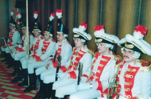 Erster Gardeauftritt 1983