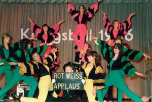 Showballett in der 80ern
